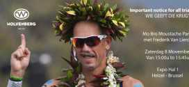 Mo Bro Moustache Party op Triathlon World