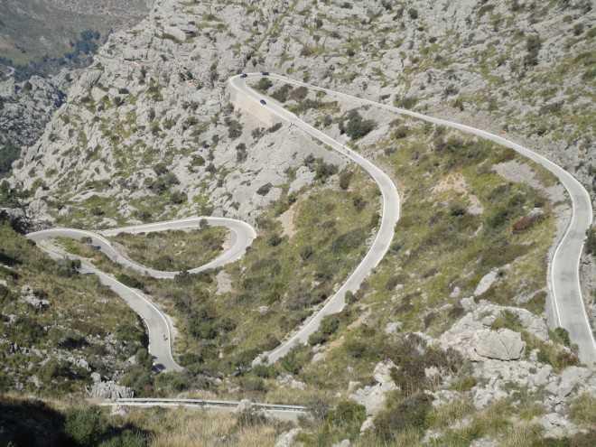 Mallorca fietsparcours
