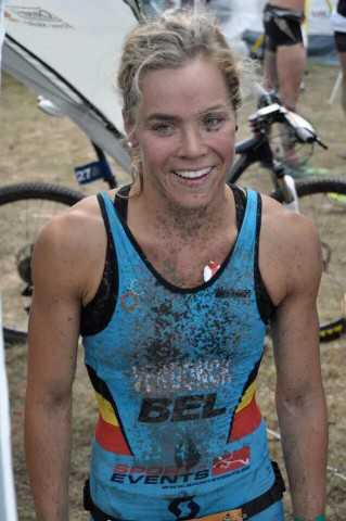 Christine Verdonck WK cross triatlon