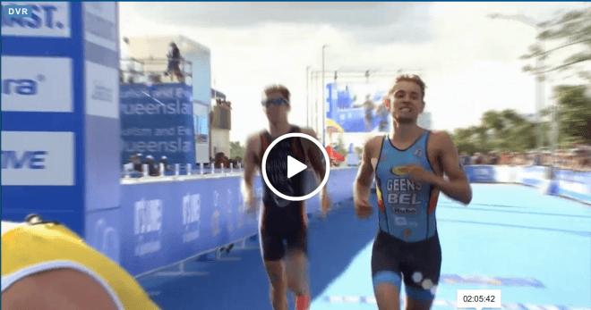 Jelle Geens finish Gold Coast