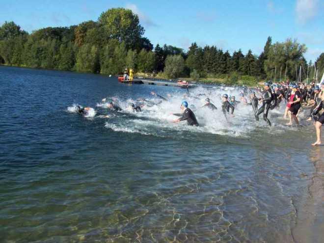 Zwemstart triatlon mechelen