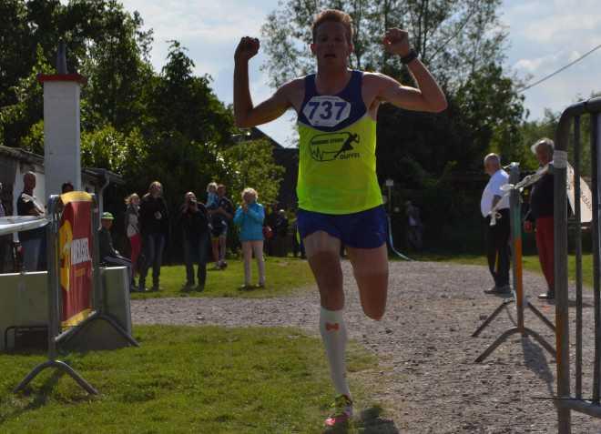 Diego Van Looy halve marathon