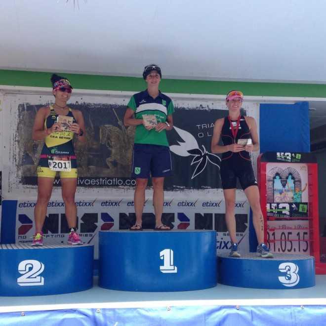 Inge Van den Broeck podium