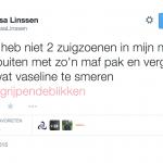 Tessa Linssen twitter wetsuit scars