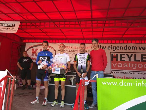 Herentals duatlon podium