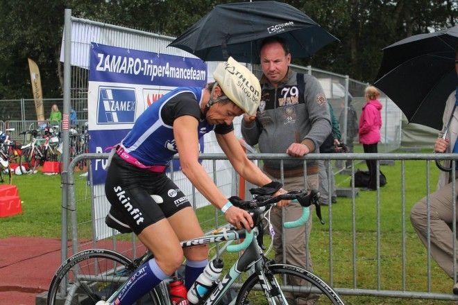 Veerle Kiebooms Viersel fiets