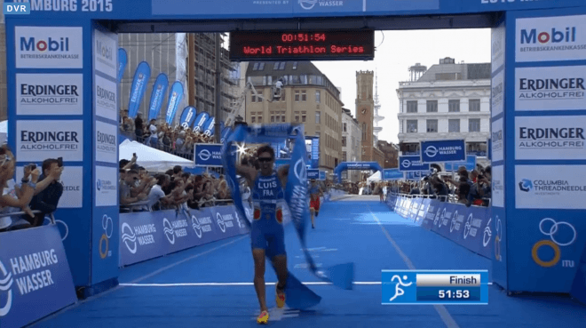 Vincent Luis wint Hamburg