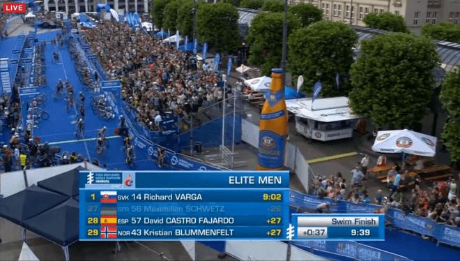 WTS Hamburg mannen after swim