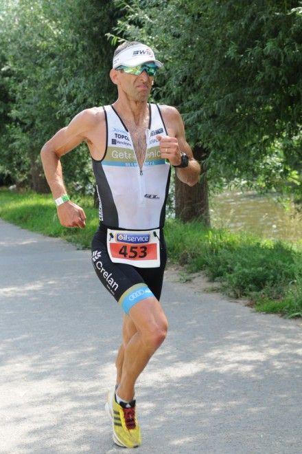 Koen Van Rie loopt naar de 6de tijd en de titel bij de veteranen (foto: Mario Vanacker)