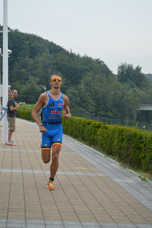 Erwin Vanderplancke wint in La Gileppe (foto: laure Lechanteur)