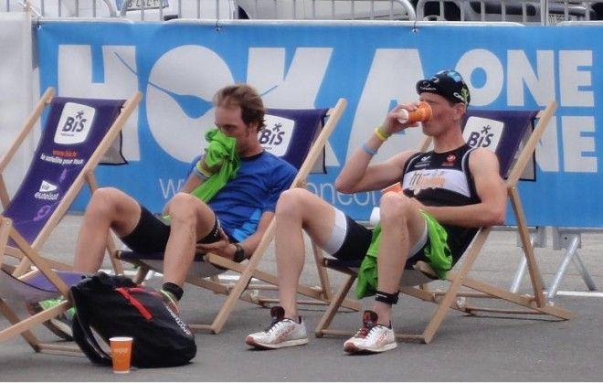 Seppe odeyn Sven Van Luyck Alpe Huez uitrusten