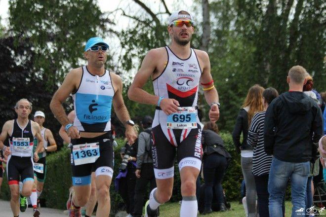 Lukas Bosmans in 70.3 IM Luxemburg (foto: Katrien Decru)