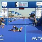 Stephane Vander Bruggen Chicago sprint finish