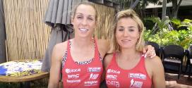 Liz en Sofie laten even stoom af in Hawaii