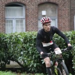 Wouter Wuilmus op weg naar winst in Wommelgem (foto: Chris Hofkens)