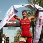 Daniela Ryf wint 1 miljoen dollar in bahrein (Photo by Nigel Roddis/Getty Images for Ironman)