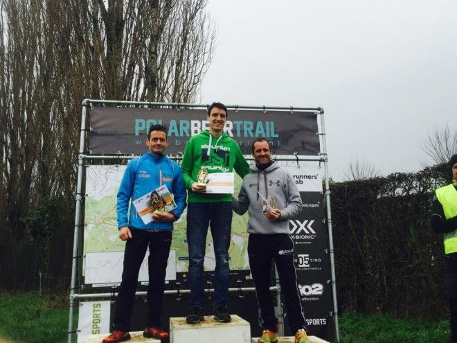 Bruno Clerbout (r) op het podium in Teuven (foto: Joris Sels)