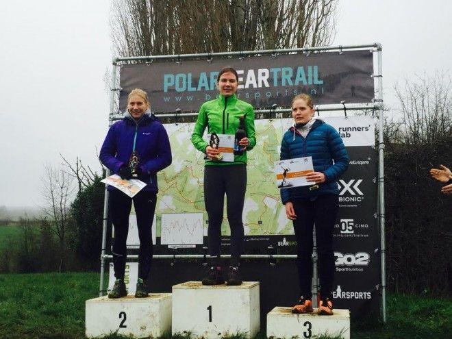Marjolein Truyers wint PolarBearTrail (foto: Joris Sels)
