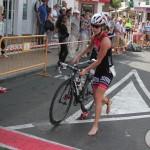 Amber Rombaut Timanfaya triathlon