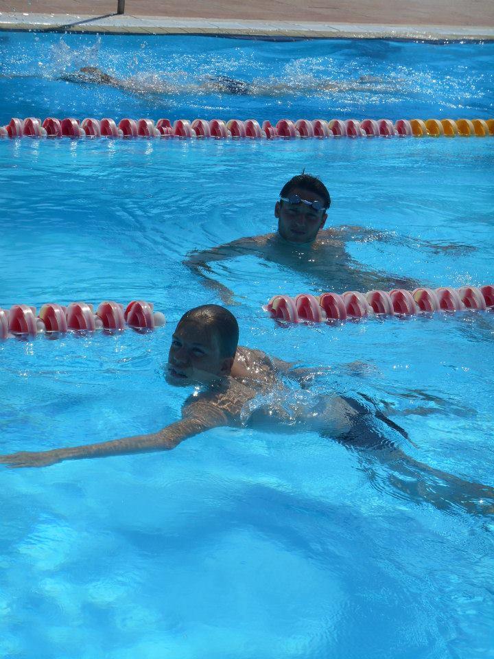 Tuur Lemmens zwembad