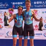 Claire Marten podium Chengdu