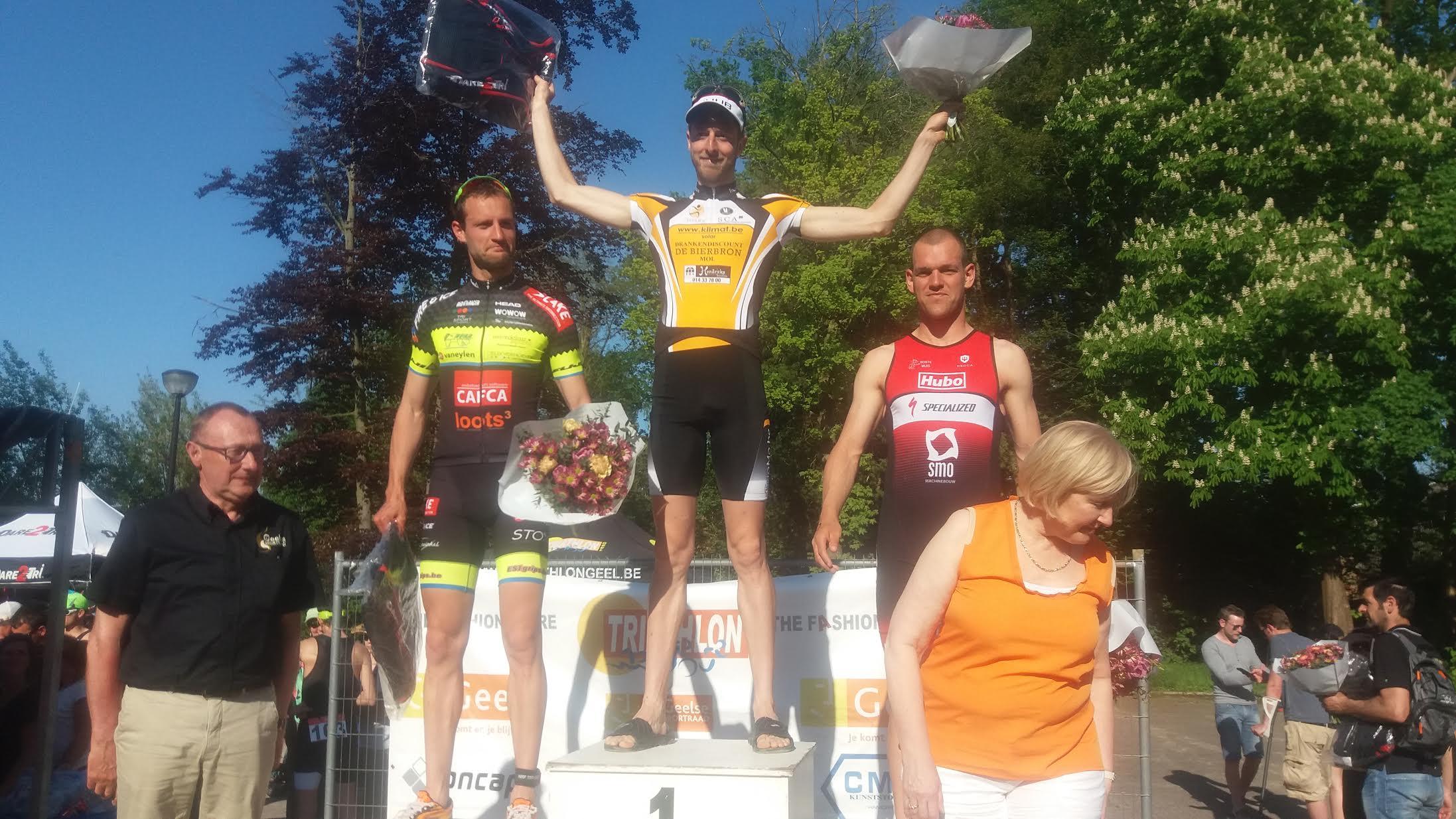 Tim Van Hemel podium Geel 2016