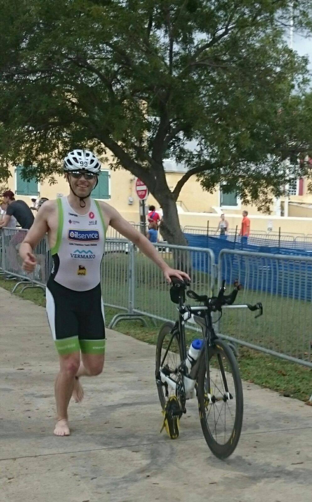 Ulrik Wieme St Croix bike