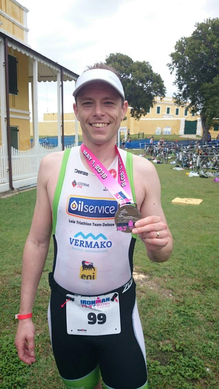Ulrik Wieme St Croix medal