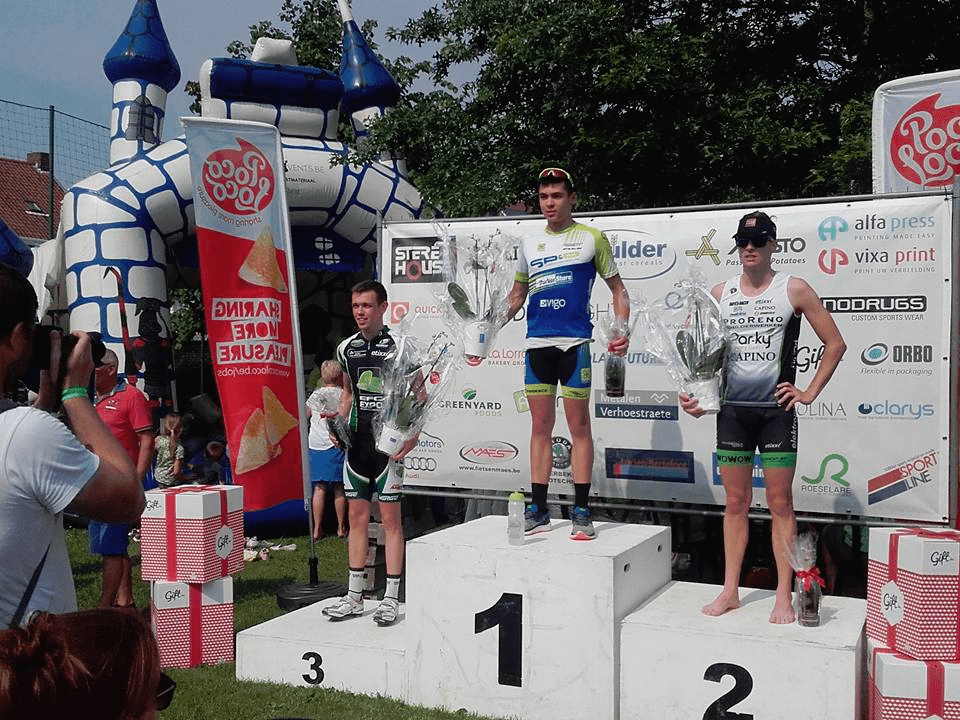 Roeselare mannen podium 2016
