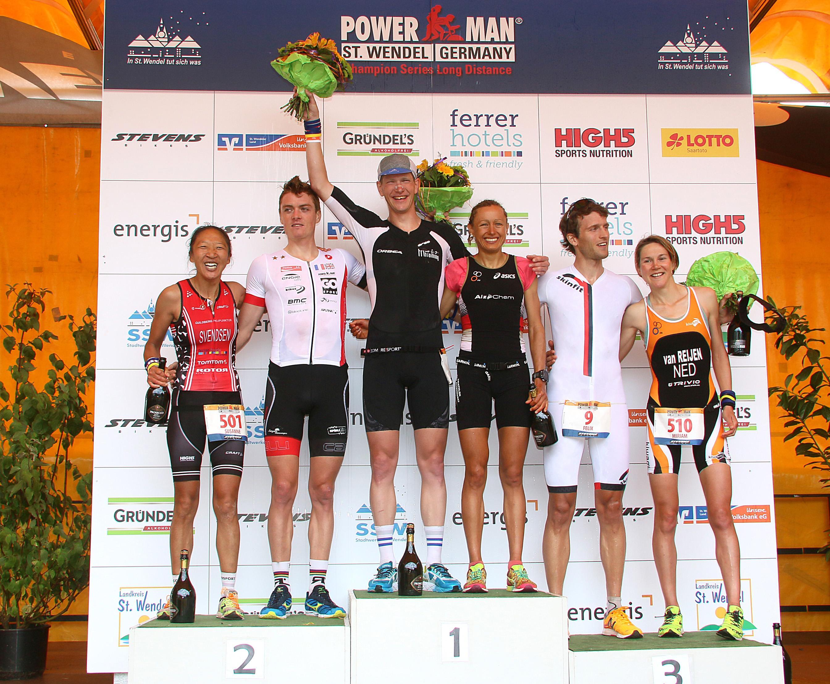 Seppe Odeyn ST Wendel podium