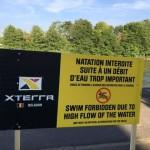 Xterra Swim forbidden
