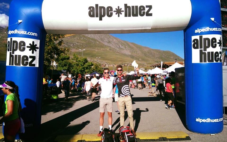 Tim Van Hemel Lucas Van Deynze Alpe Huez