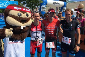 Belgen imponeren in triatlon Alpe d'Huez