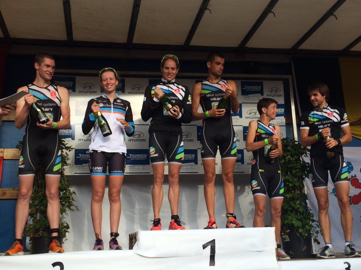 Atriac podium Eupen