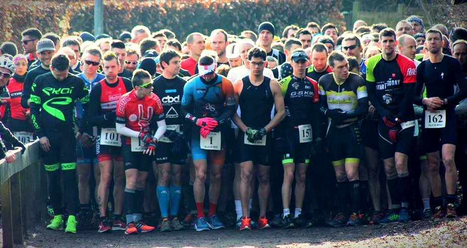 Jurbise cross duatlon 2017 start