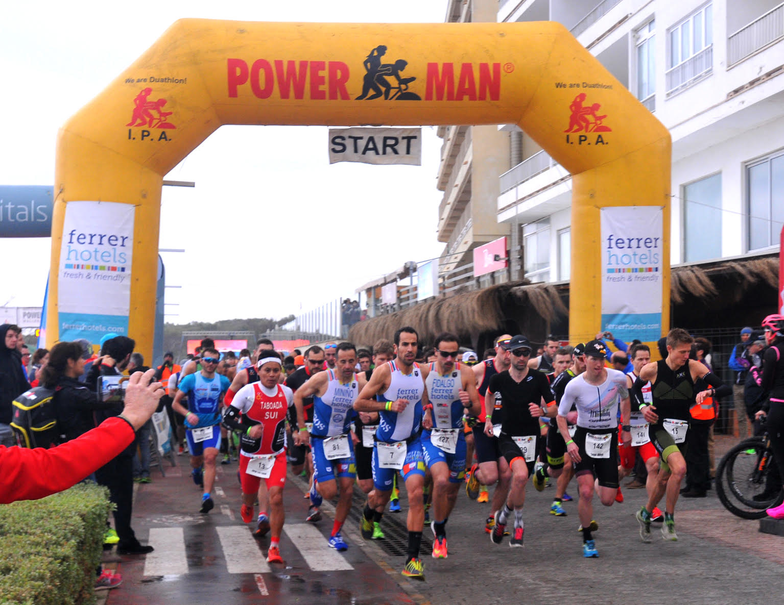 Start Powerman Mallorca 2017 Odeyn