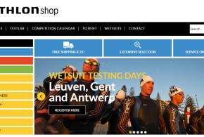 Nieuwe webshop en wetsuit testdagen van Triathlonshop.be