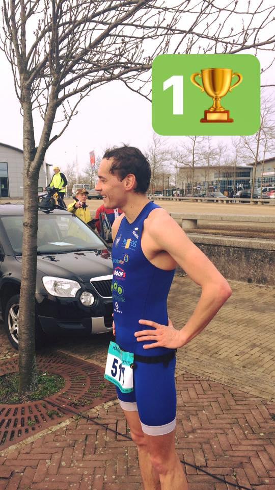 David De Grooff zwemloop Bergen 2017