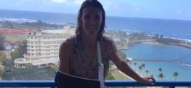 Vrijwilliger knalt Tine Deckers onderuit in Puerto Rico