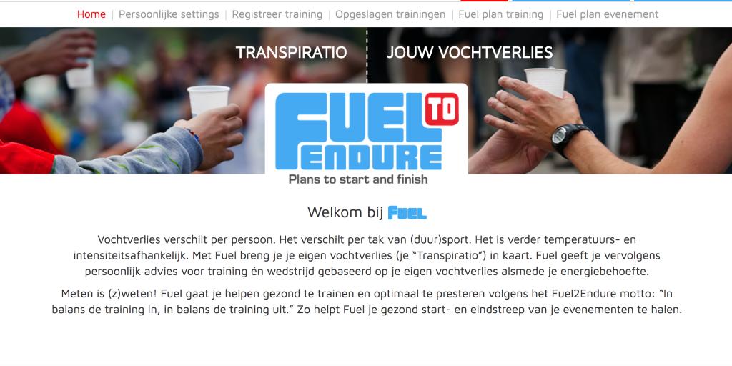fuel2endure.com home