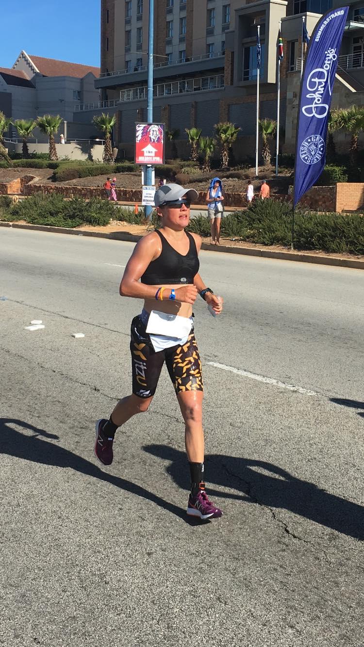 Alexandra Tondeur Zuid-Afrika 2017 Run