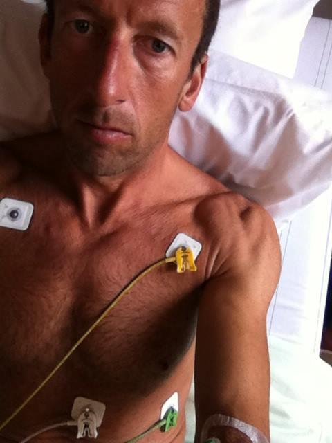 Marino Vanhoenacker breuk borstbeen 2017