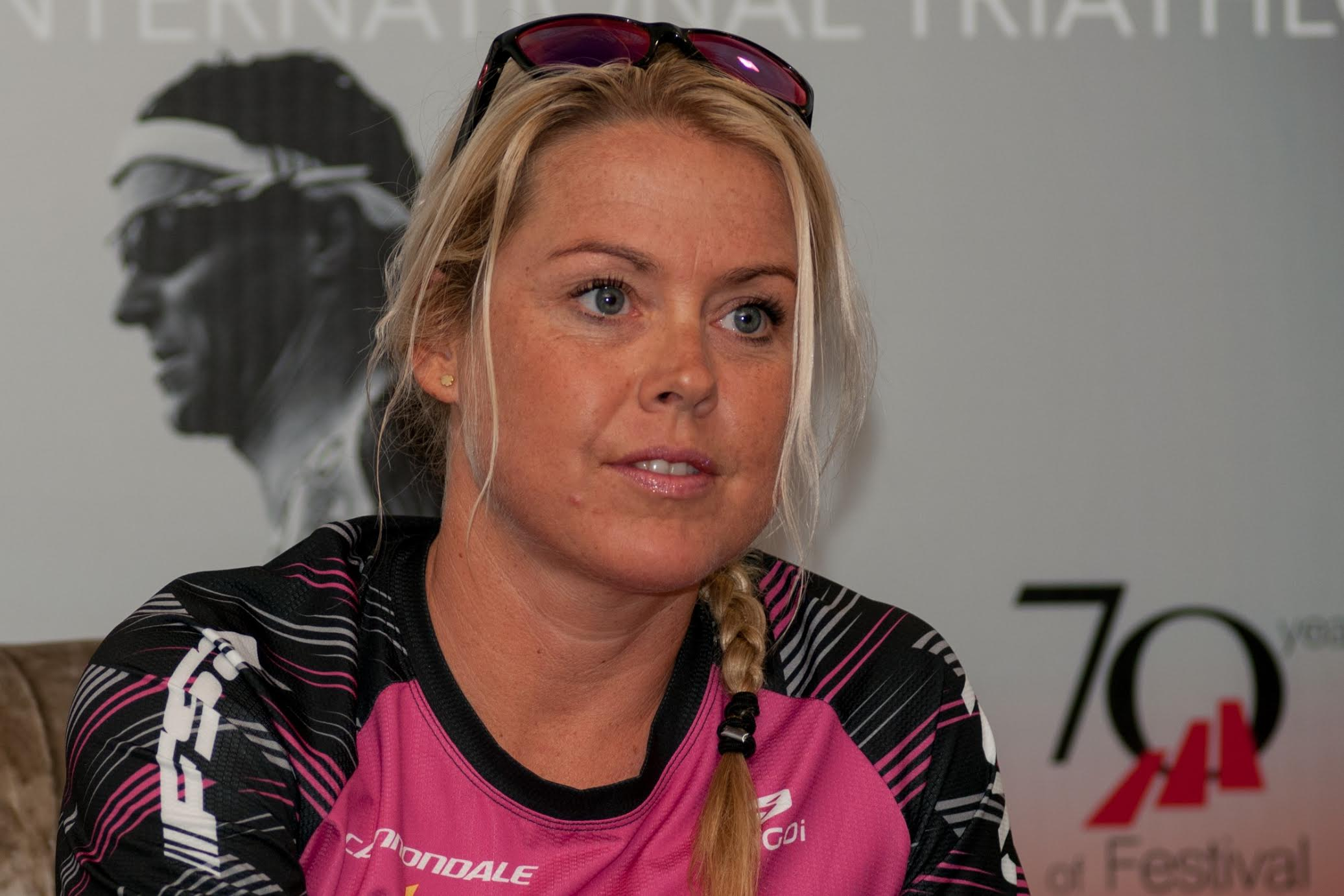 Michelle Vesterby, één van de topfavorieten bij de vrouwen (foto: Mario Vanacker)