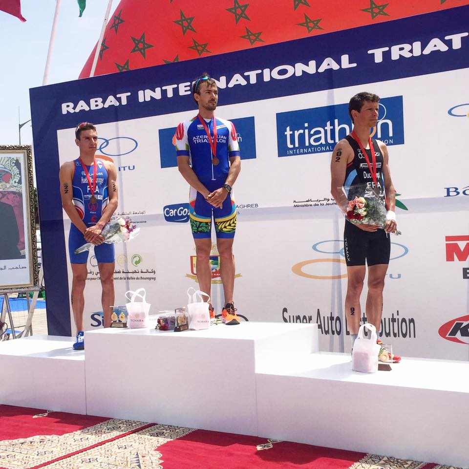 Rabat 2017 podium