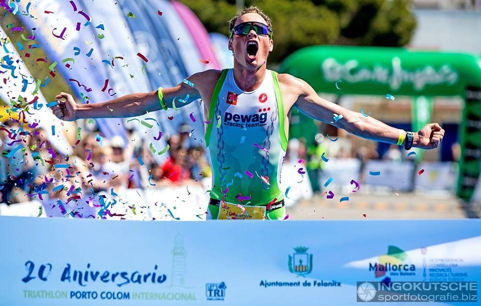 Michael Van Cleven wint in Portocolom (foto: Ingo Kutsche)