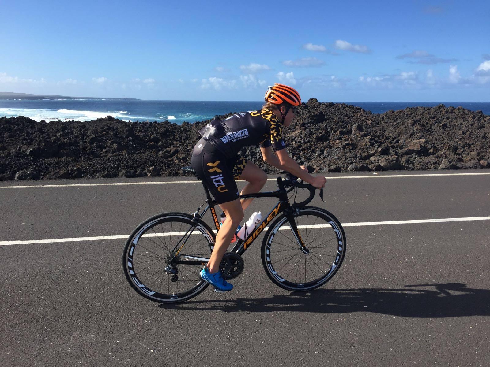 Alexandra Tondeur itzu bike
