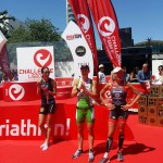 Een stralende Sofie Goos in Lissabon (foto: Magda Nys)
