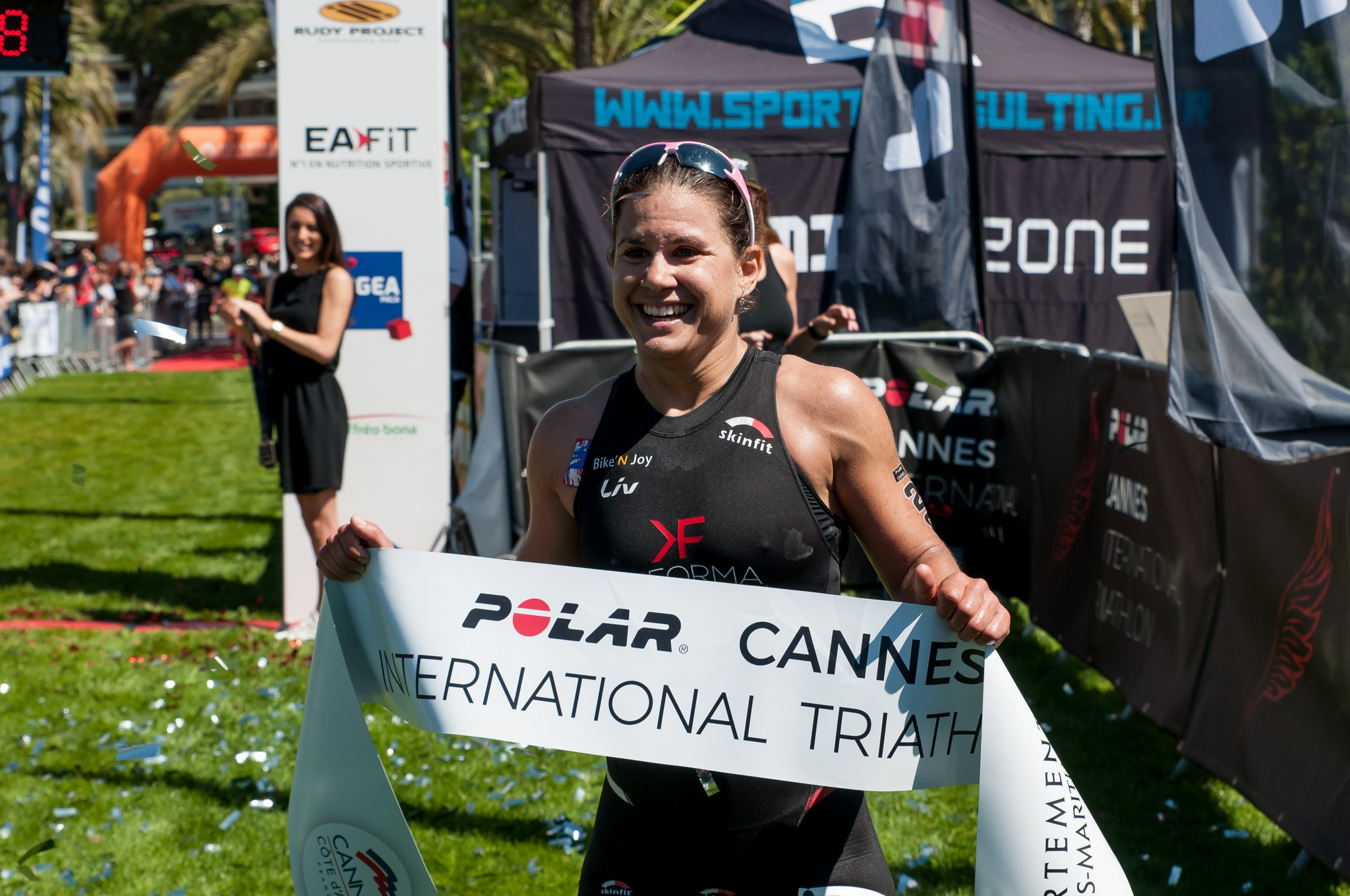 Emma Bilham, winnares in Cannes in 2017 (foto: Mario Vanacker)