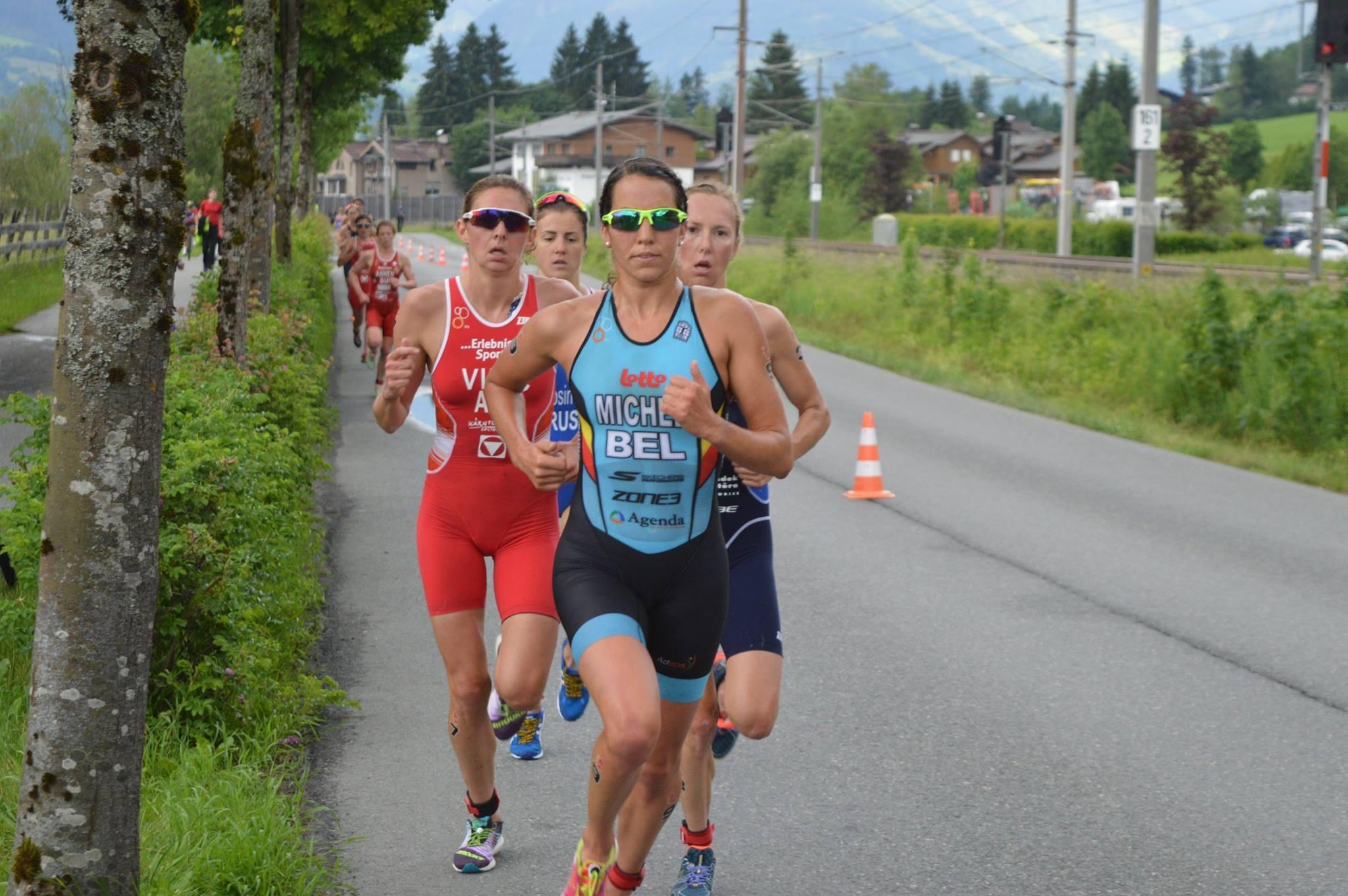 Claire Michel run Kitzbuhel 2017