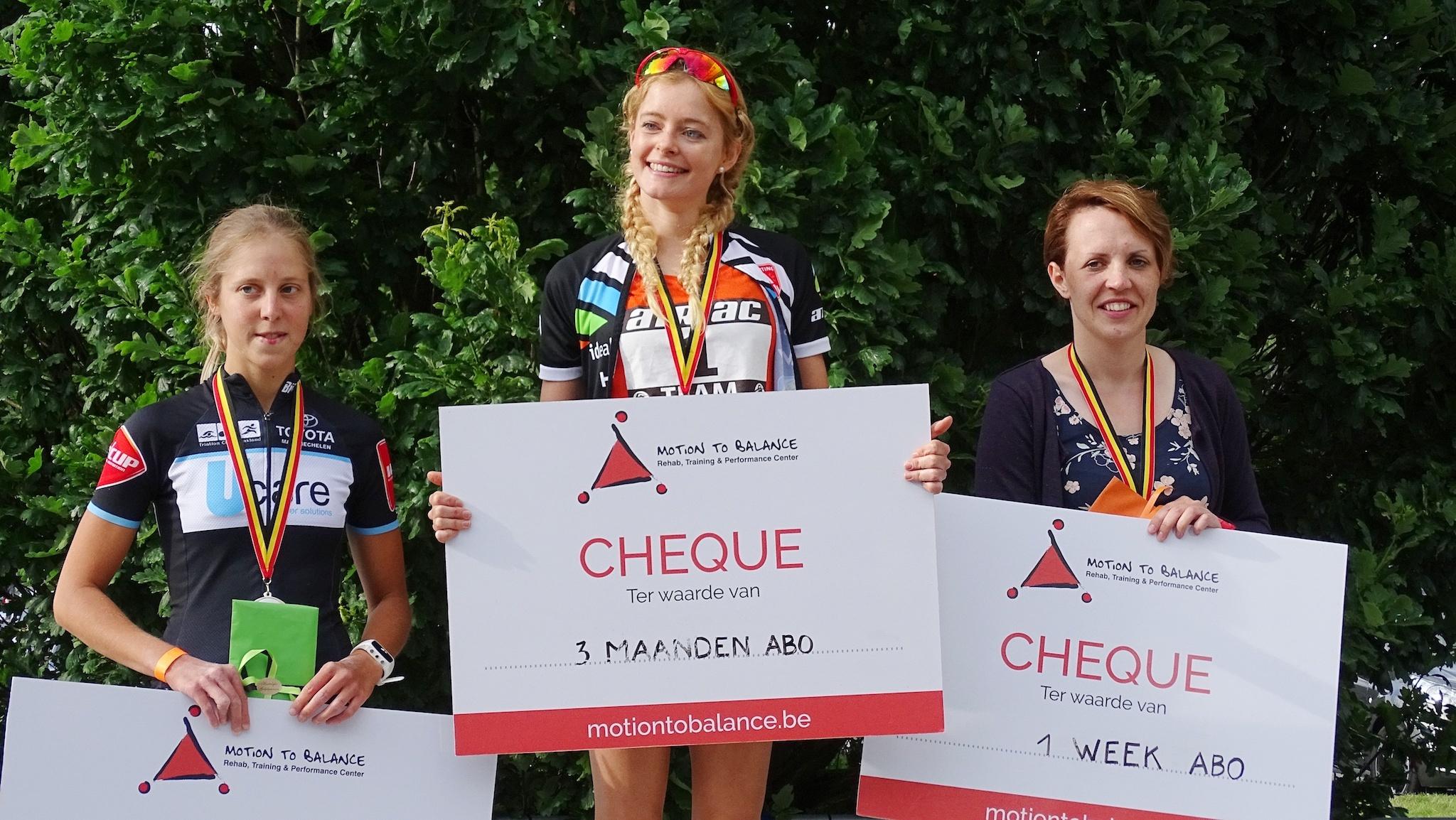 Ines Van Troyen wint in Genk (foto: Johan Tack)